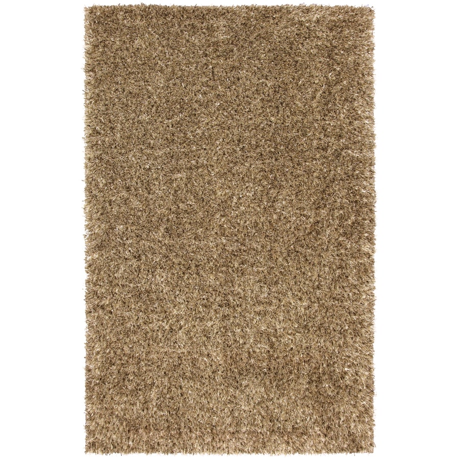 Mohawk Home Shimmer Spring Gold Rectangular Yellow Transitional Tufted Area Rug (Common: 8-ft x 10-ft; Actual: 8-ft x 10-ft)