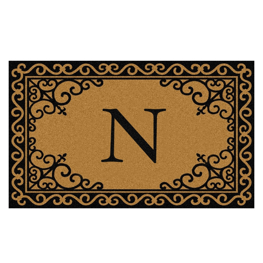 Mohawk Home Rectangular Door Mat (Common: 18-in x 30-in; Actual: 18-in x 30-in)