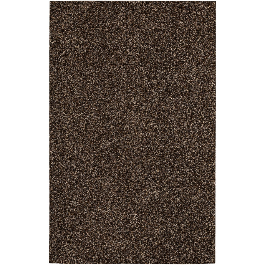 Mohawk Home 8-ft x 10-ft Chocolate Premiere Area Rug