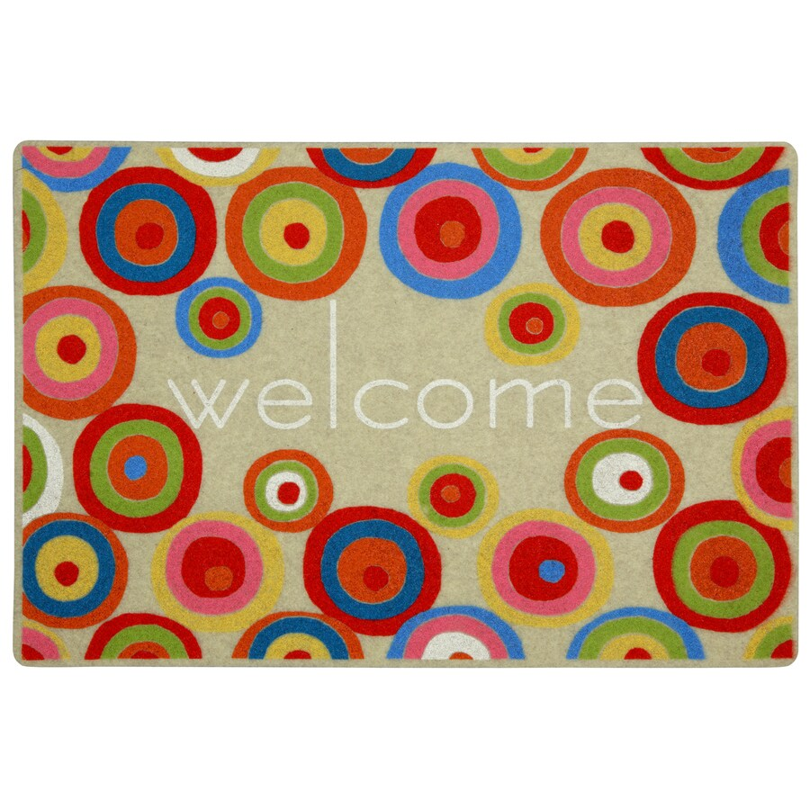 Mohawk Home Rectangular Door Mat (Common: 18-in x 30-in; Actual: 18-in x 27-in)