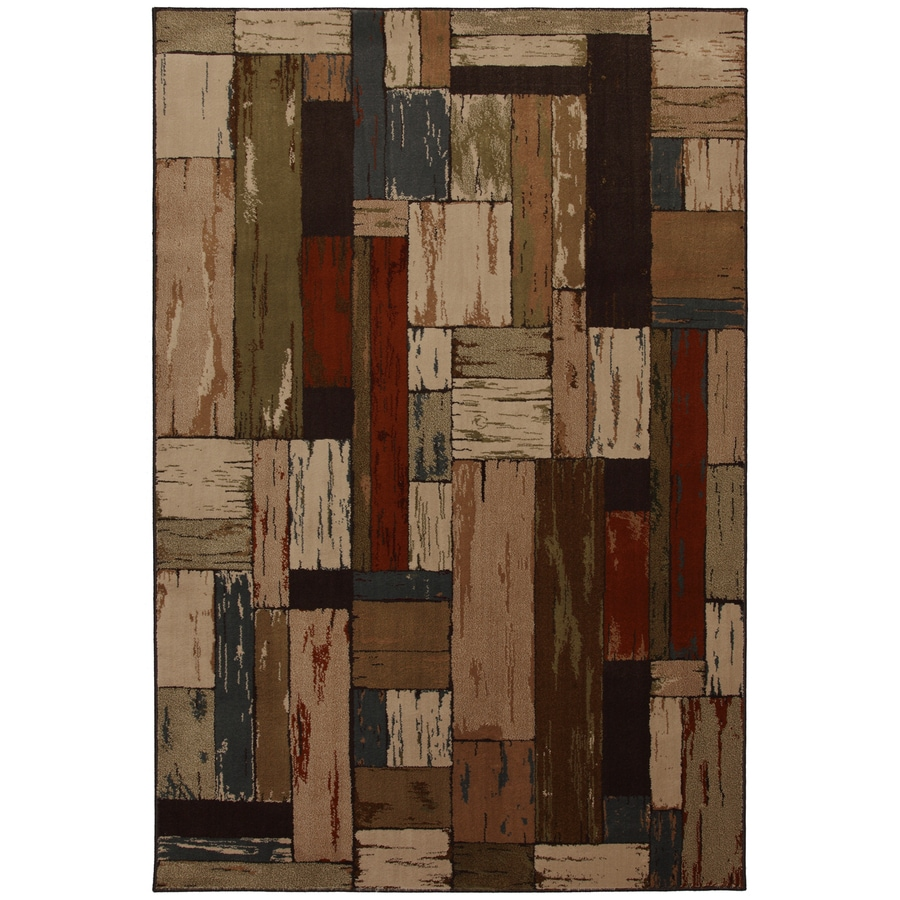 Mohawk Home Bradford 10-ft x 13-ft Rectangular Multicolor Transitional Area Rug