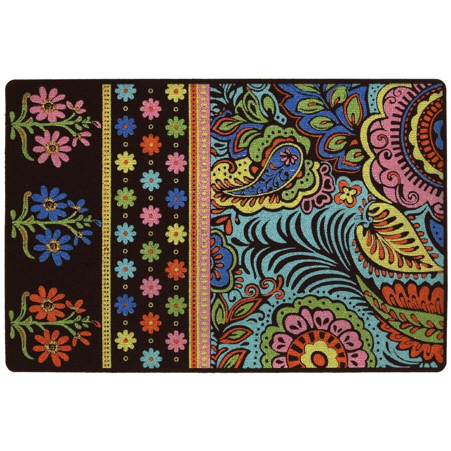 Mohawk Home Multicolor Rectangular Door Mat (Common: 18-in x 30-in; Actual: 18-in x 27-in)
