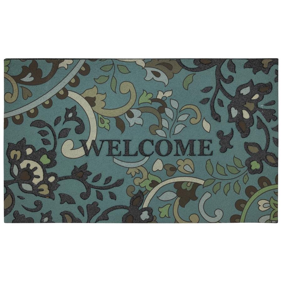 Style Selections Multicolor Rectangular Door Mat (Common: 18-in x 30-in; Actual: 18-in x 30-in)