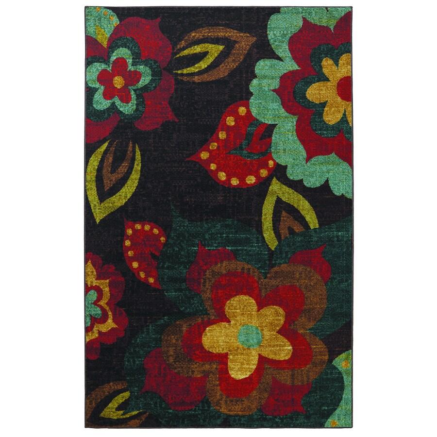 Mohawk Home Ayanna Kaleidoscope Multicolor Rectangular Indoor Tufted Area Rug (Common: 8 x 10; Actual: 96-in W x 120-in L x 0.5-ft Dia)