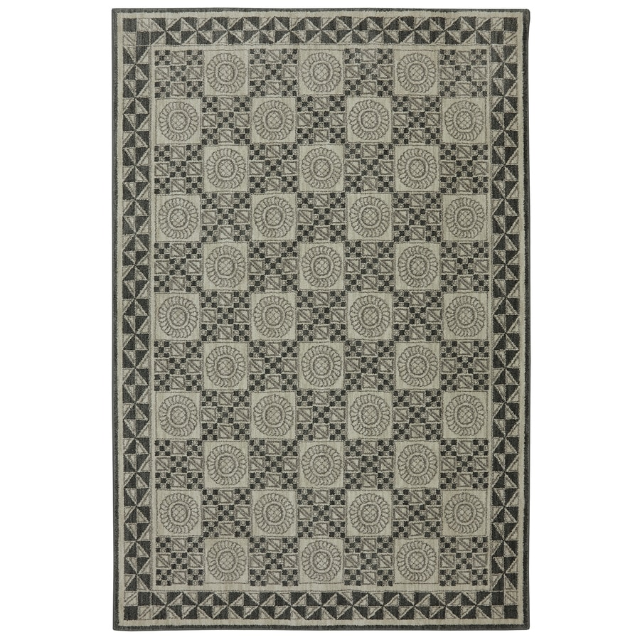 Bob Timberlake Reflections Elephant Skin Rectangular Indoor Woven Area Rug (Common: 5 x 8; Actual: 63-in W x 94-in L x 0.5-ft Dia)