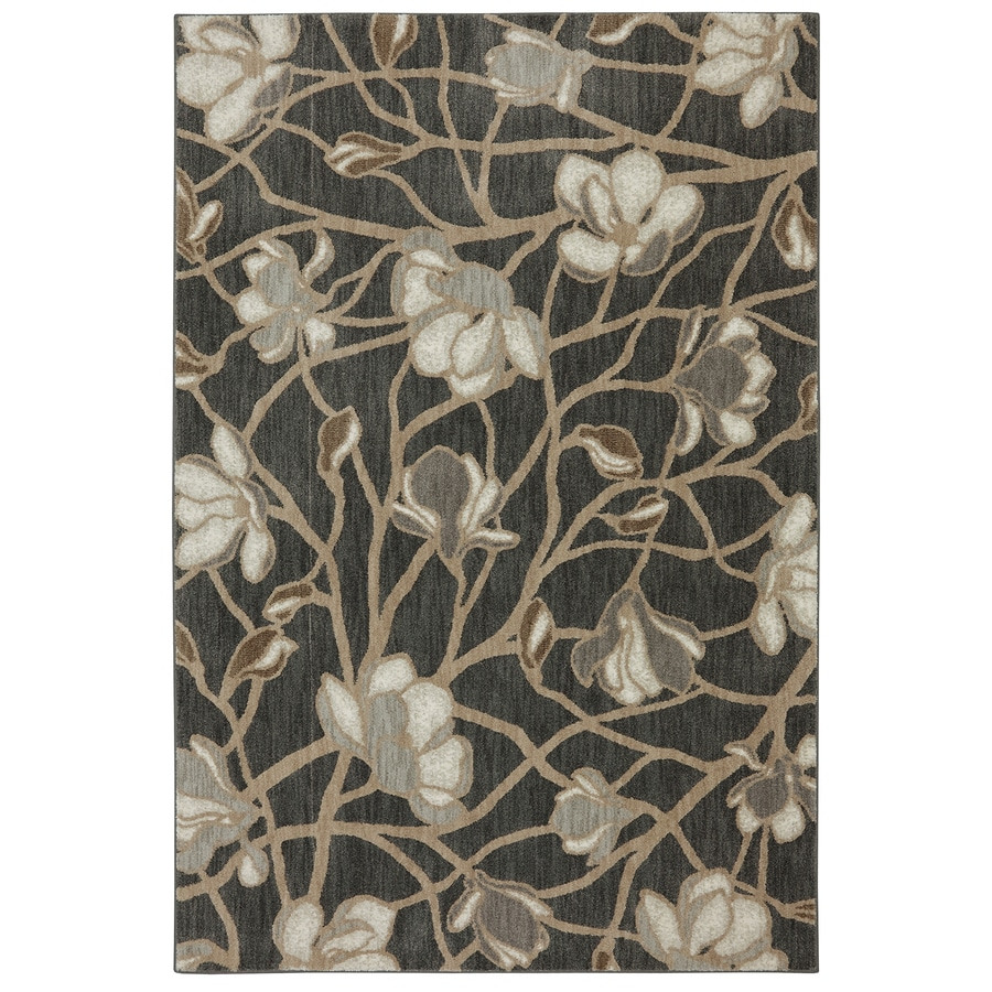 Bob Timberlake Reflections Multicolor Rectangular Indoor Woven Area Rug (Common: 5 x 8; Actual: 63-in W x 94-in L x 0.5-ft Dia)