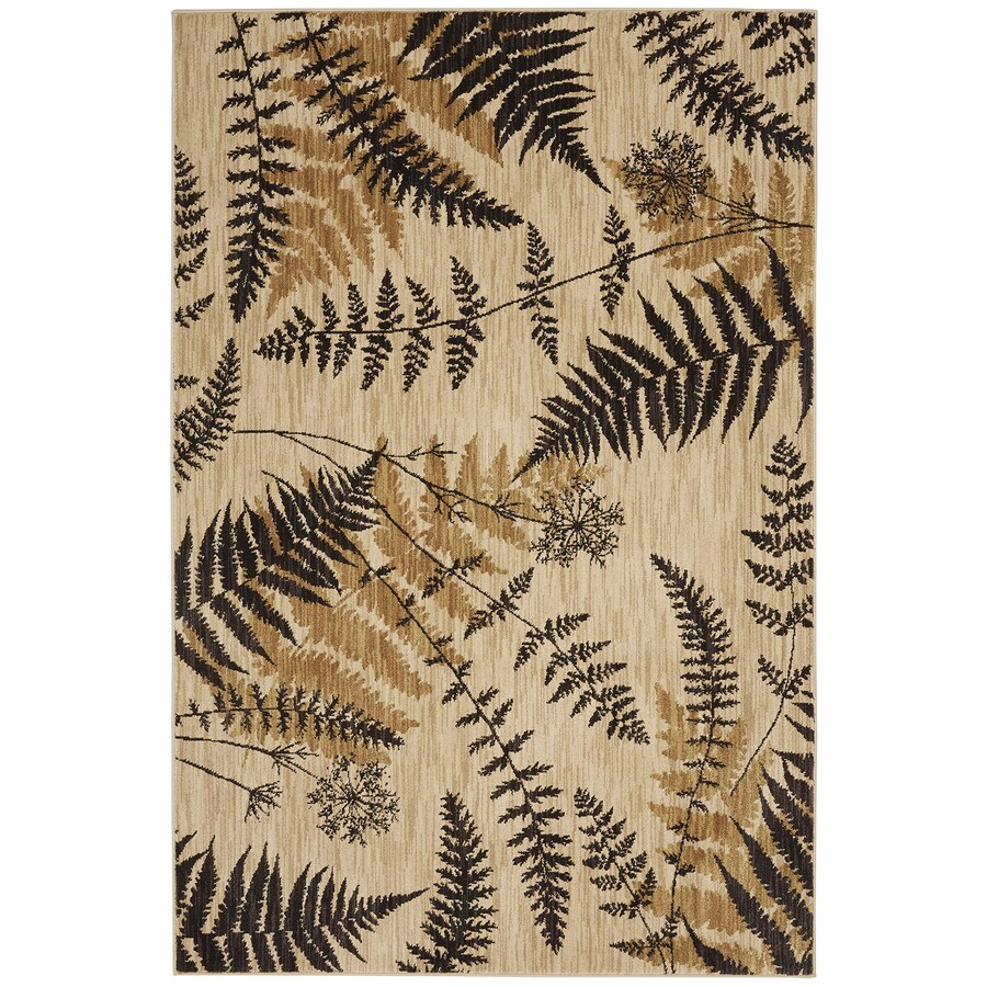 Bob Timberlake Heritage Ashen Rectangular Indoor Woven Area Rug (Common: 5 x 8; Actual: 63-in W x 94-in L x 0.5-ft Dia)