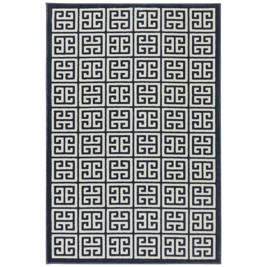 Mohawk Home Corsica Dark Slate Rectangular Indoor Woven Area Rug (Common: 10 x 13; Actual: 114-in W x 155-in L x 0.5-ft Dia)