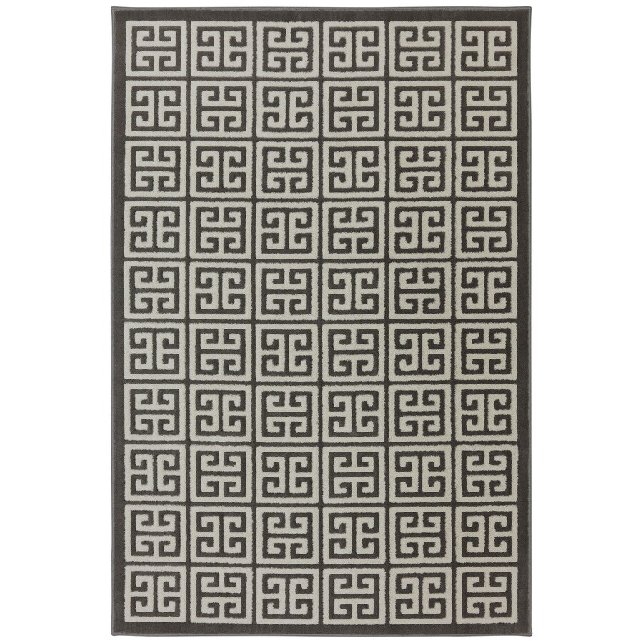 Mohawk Home Corsica Brindle Rectangular Indoor Woven Area Rug (Common: 10 x 13; Actual: 114-in W x 155-in L x 0.5-ft Dia)