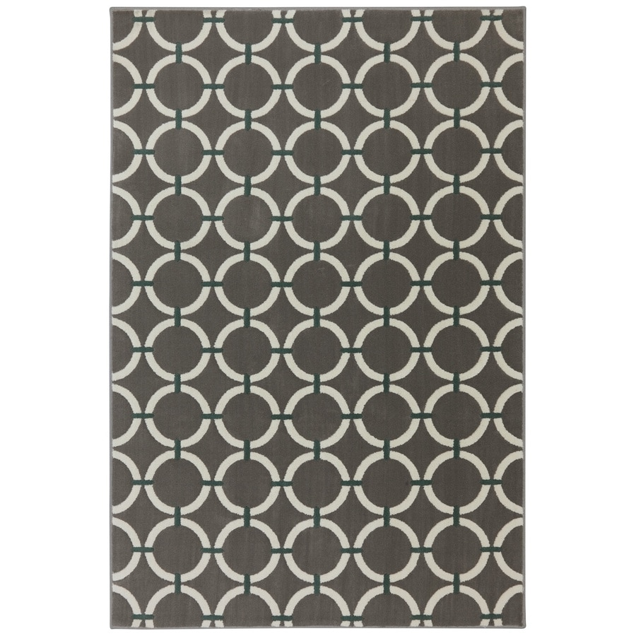 Mohawk Home Ringlet Brindle Rectangular Indoor Woven Area Rug (Common: 10 x 13; Actual: 114-in W x 155-in L x 0.5-ft Dia)