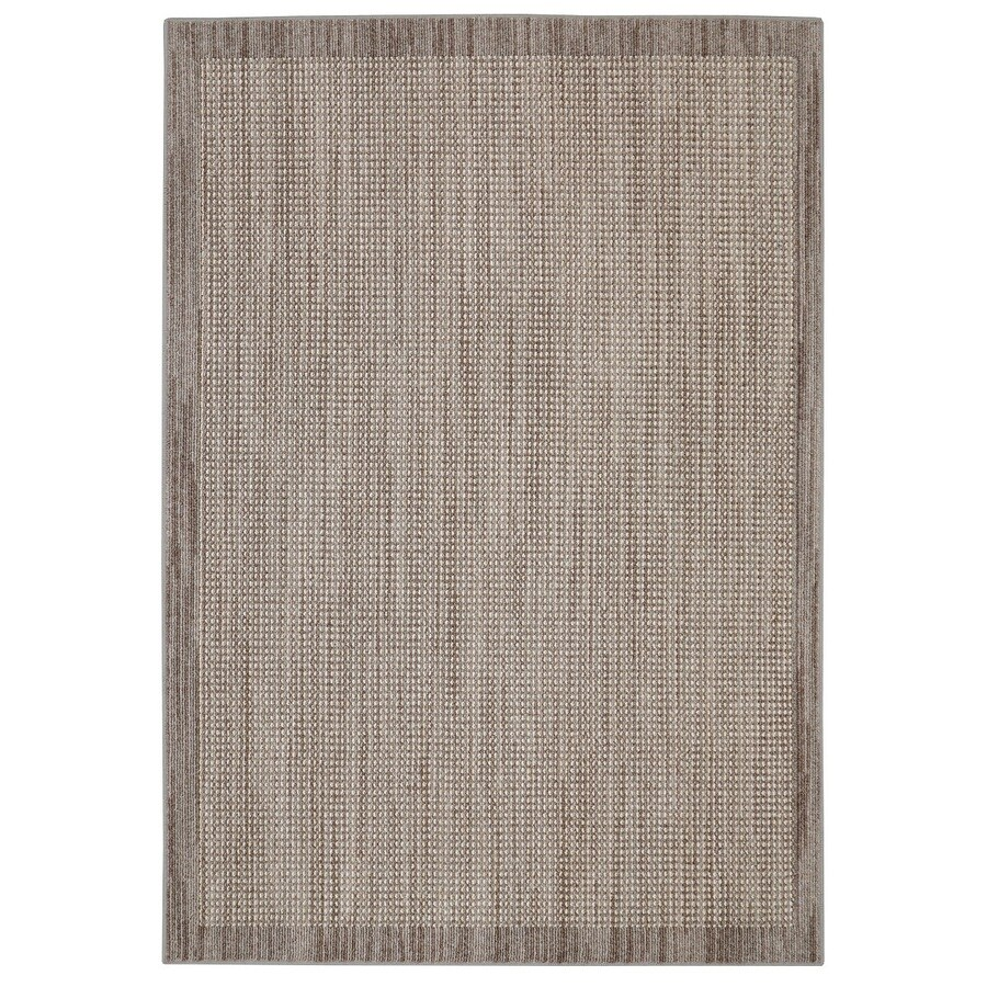 Mohawk Home Topaz Taupe Rectangular Indoor Tufted Throw Rug (Common: 2 x 3; Actual: 24-in W x 40-in L)