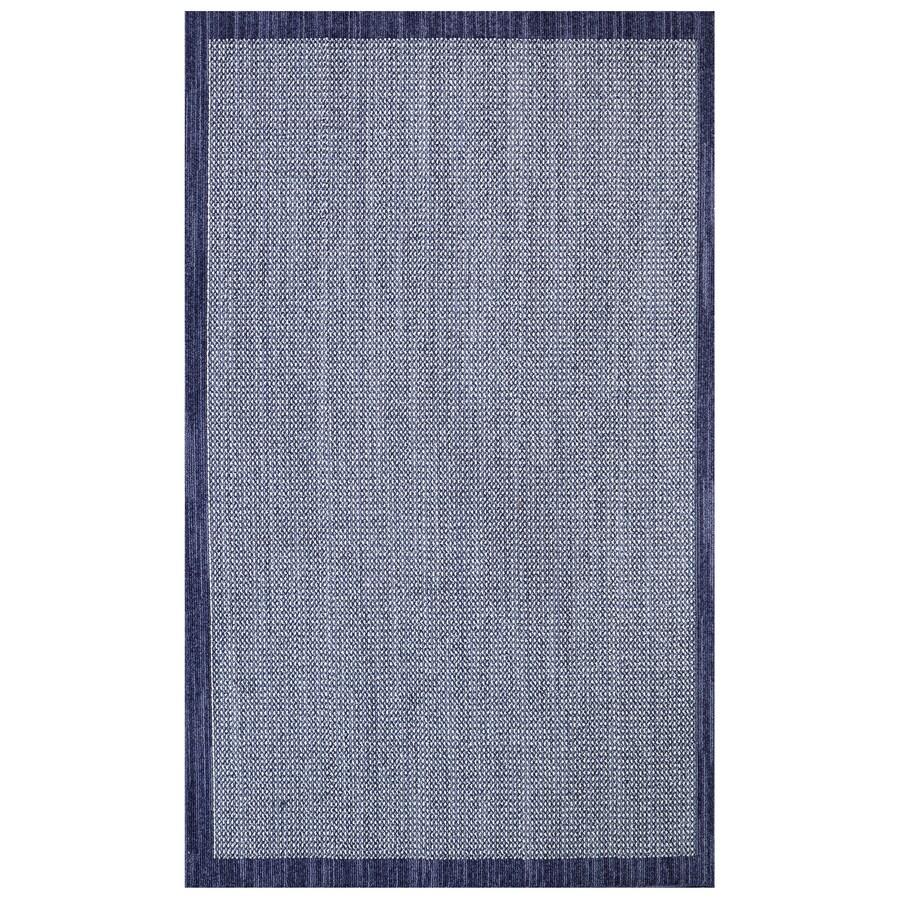 Mohawk Home Topaz Indigo/Blue Rectangular Indoor Tufted Area Rug (Common: 5 x 8; Actual: 60-in W x 96-in L)