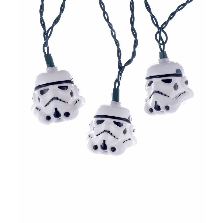 Star Wars 10-Count 9-ft White Christmas Copper Wire String Plug-in Christmas String Lights
