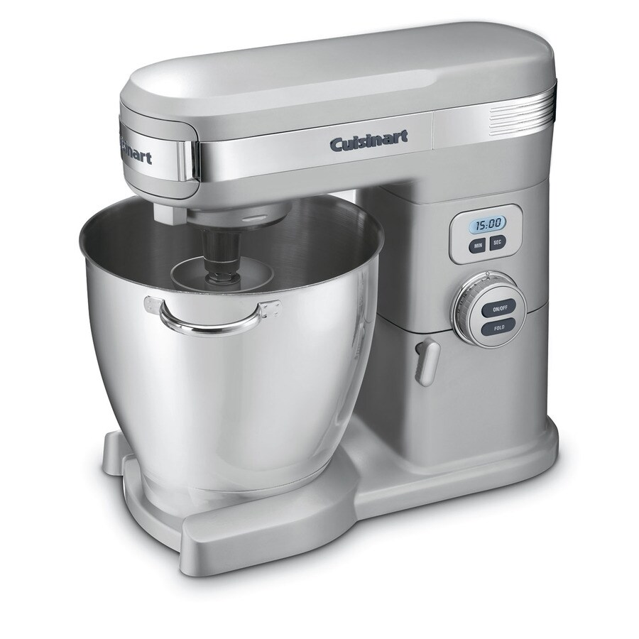 Cuisinart 7-Quart 12-Speed Brushed Chrome Countertop Stand Mixer