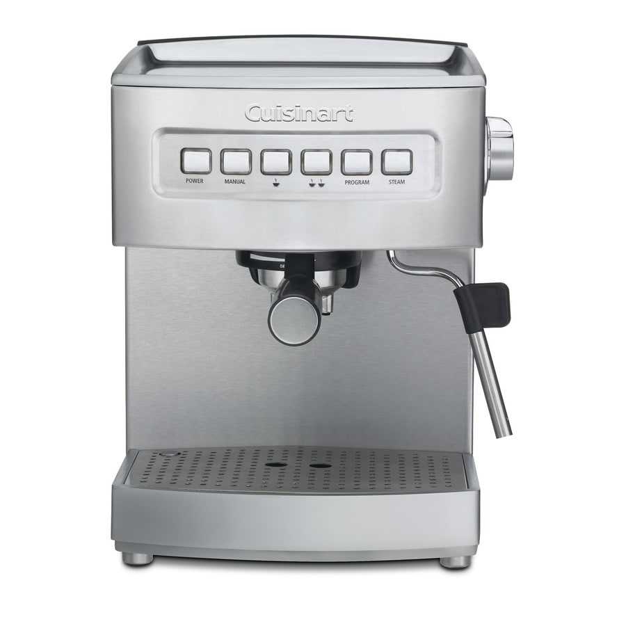 Coffee Maker Latte Reviews : Shop Cuisinart Stainless Steel Automatic Programmable Espresso Machine at Lowes.com