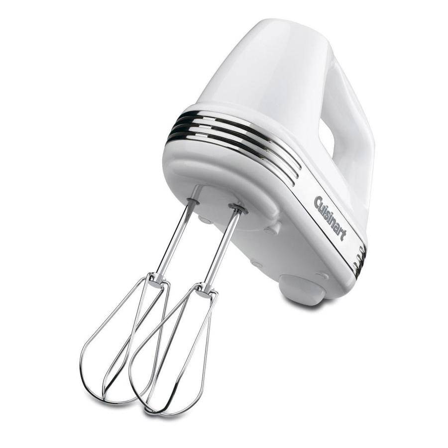 Cuisinart 7-Speed White Hand Mixer