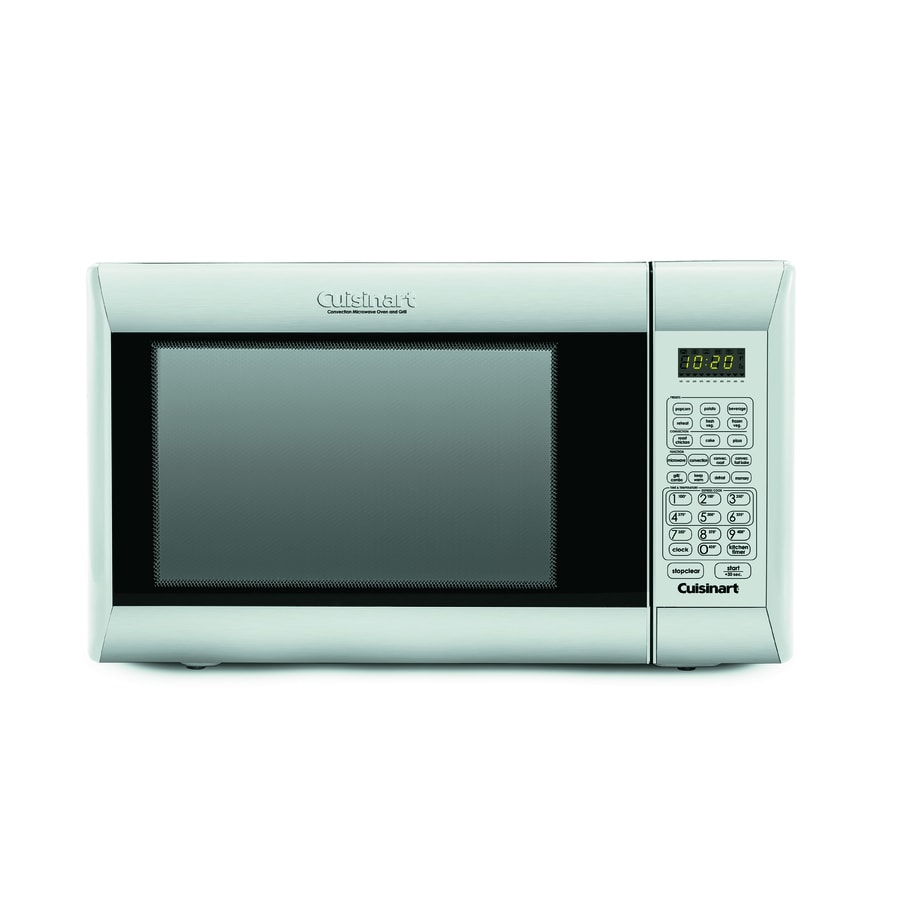 Cuisinart 1.2-cu ft 1,000-Watt Countertop Convection Microwave (Stainless Steel)