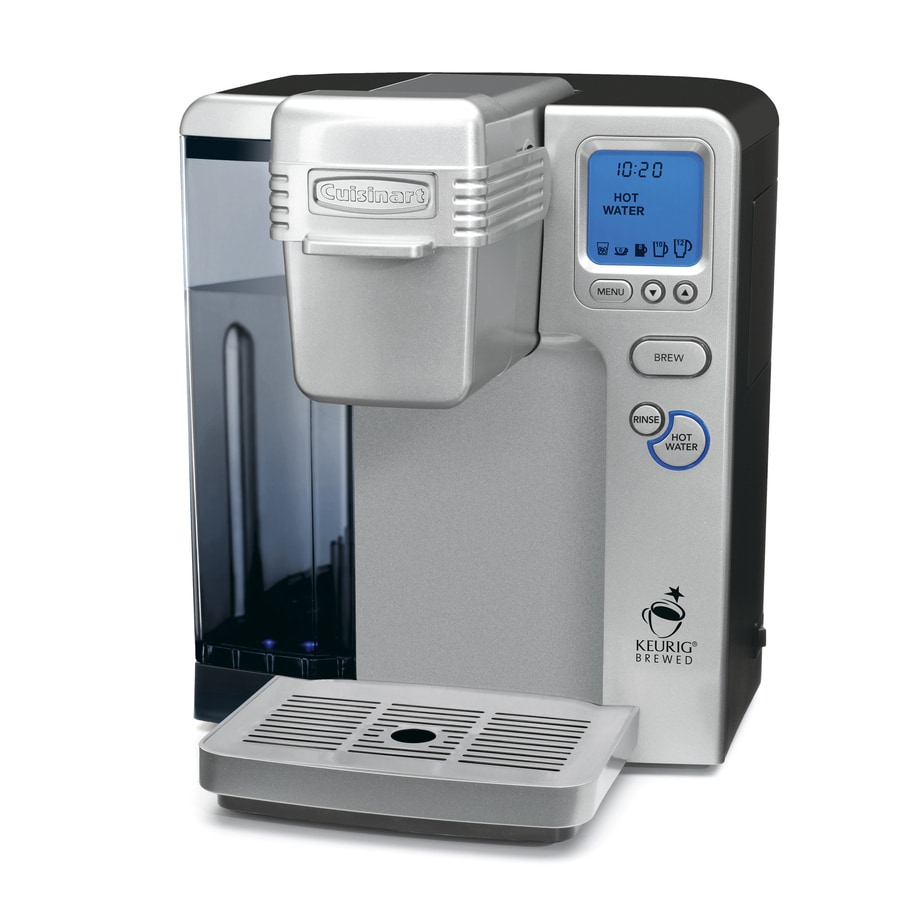 Cuisinart Brushed Chrome Programmable Single-Serve Coffee Maker