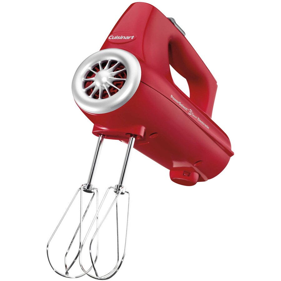 Cuisinart 3-Speed Red Hand Mixer