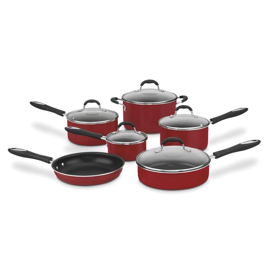 Cuisinart 11-Piece Advantage Aluminum Cookware Set with Lids