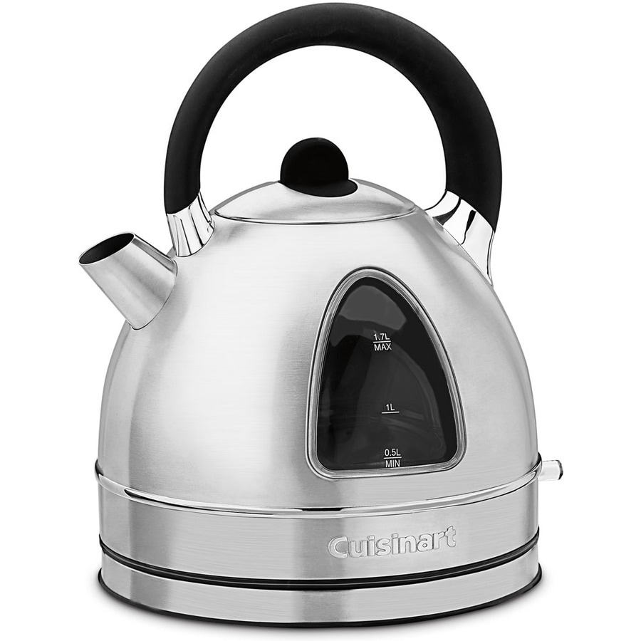Electric Kettle Product ~ Shop cuisinart chrome cup electric tea kettle at lowes