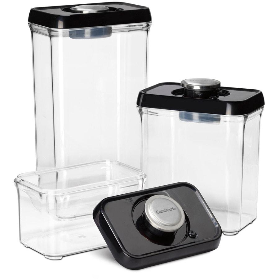 Cuisinart 3-Piece Plastic Food Storage Container