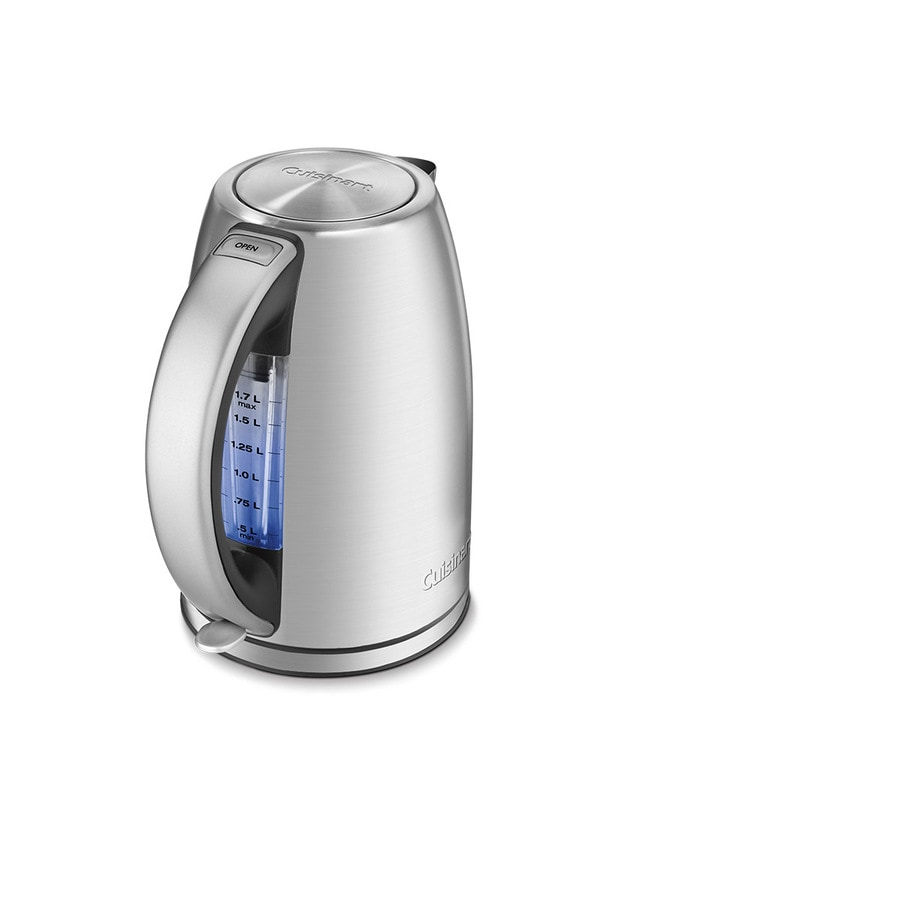 Shop Cuisinart Stainless Steel 7-Cup Electric Tea Kettle at Lowes.com