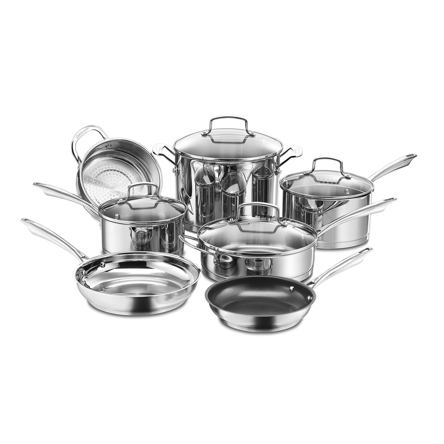 Cuisinart 11-Piece Professional 24.25-in Cookware Set with Lid