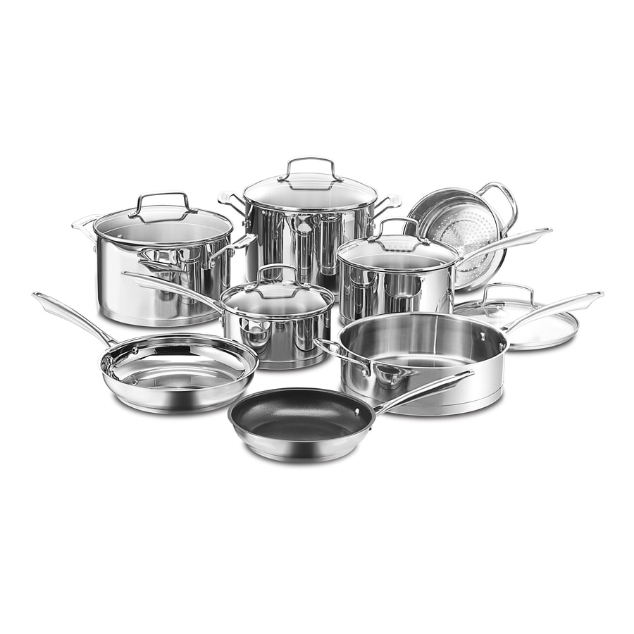 Cuisinart 13-Piece Professional 25.13-in Cookware Set with Lid