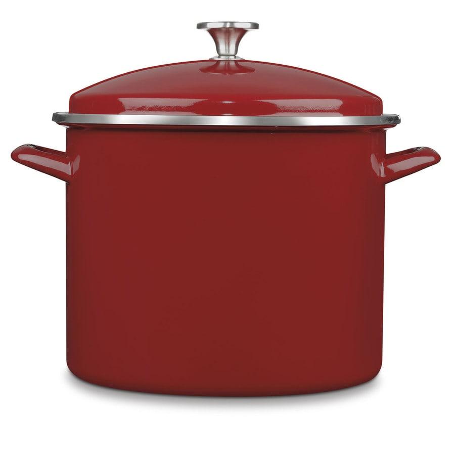 Cuisinart 12-Quart Aluminum Stock Pot with Lid and Basket
