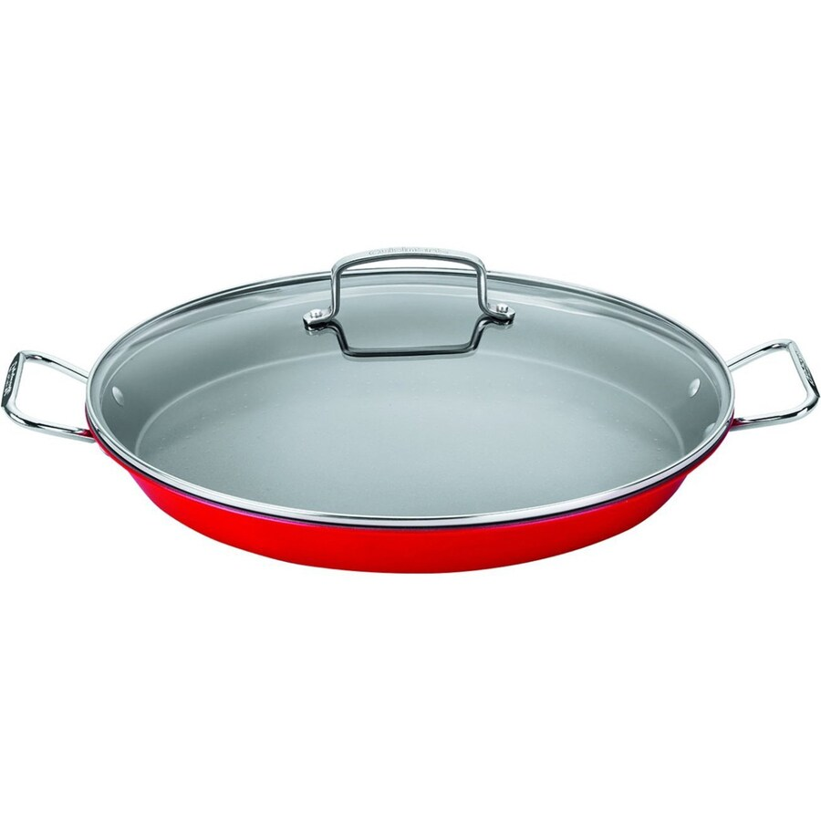 Cuisinart 2-Piece 15-in Paella Pans with Lid