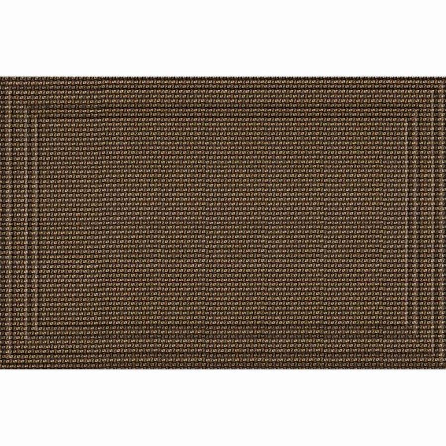 Apache Mills, Inc. Chocolate Rectangular Door Mat (Common: 30-in x 47-in; Actual: 30-in x 47-in)