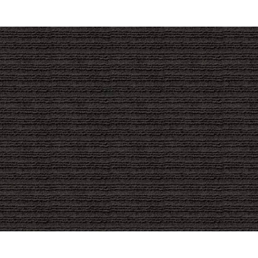 Apache Mills, Inc. Onyx Charcoal Rectangular Door Mat (Common: 24-in x 36-in; Actual: 24-in x 36-in)