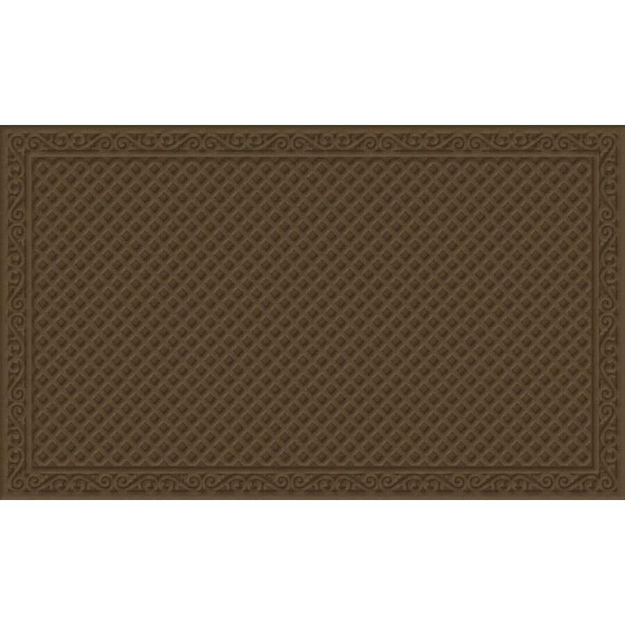 Blue Hawk Tan Rectangular Door Mat (Common: 36-in x 60-in; Actual: 36-in x 60-in)
