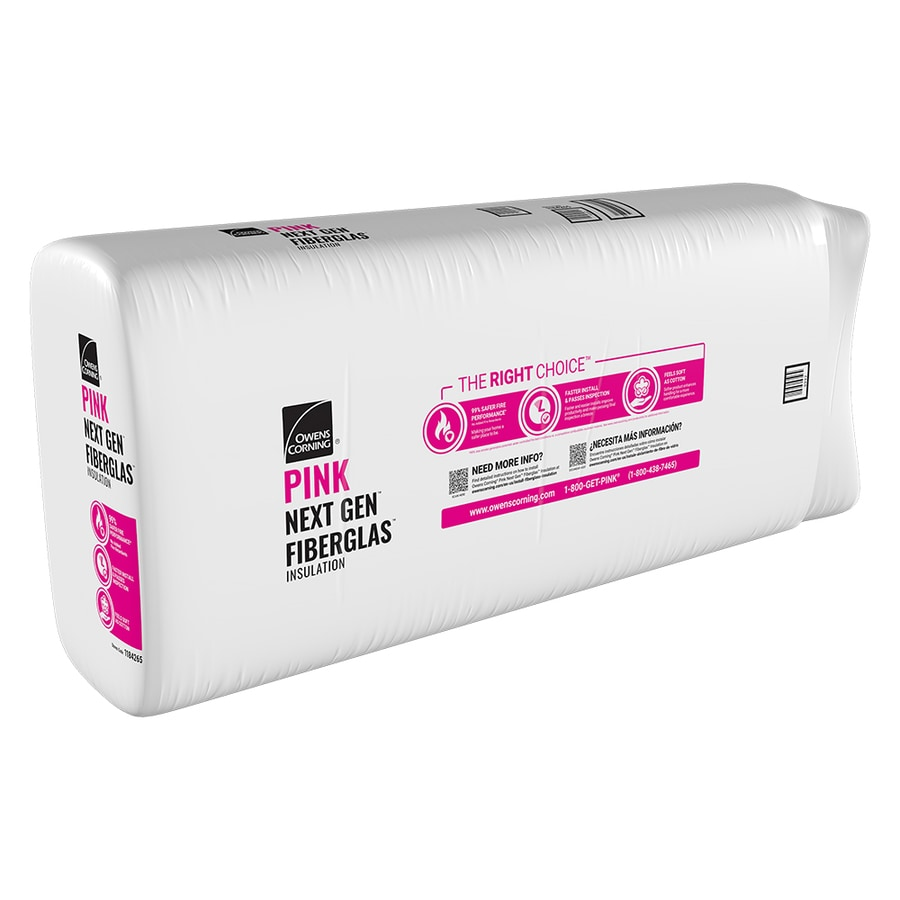 Owens Corning R38 63.33-sq ft Unfaced Fiberglass Batt Insulation with Sound Barrier (23.75-in W x 48-in L)