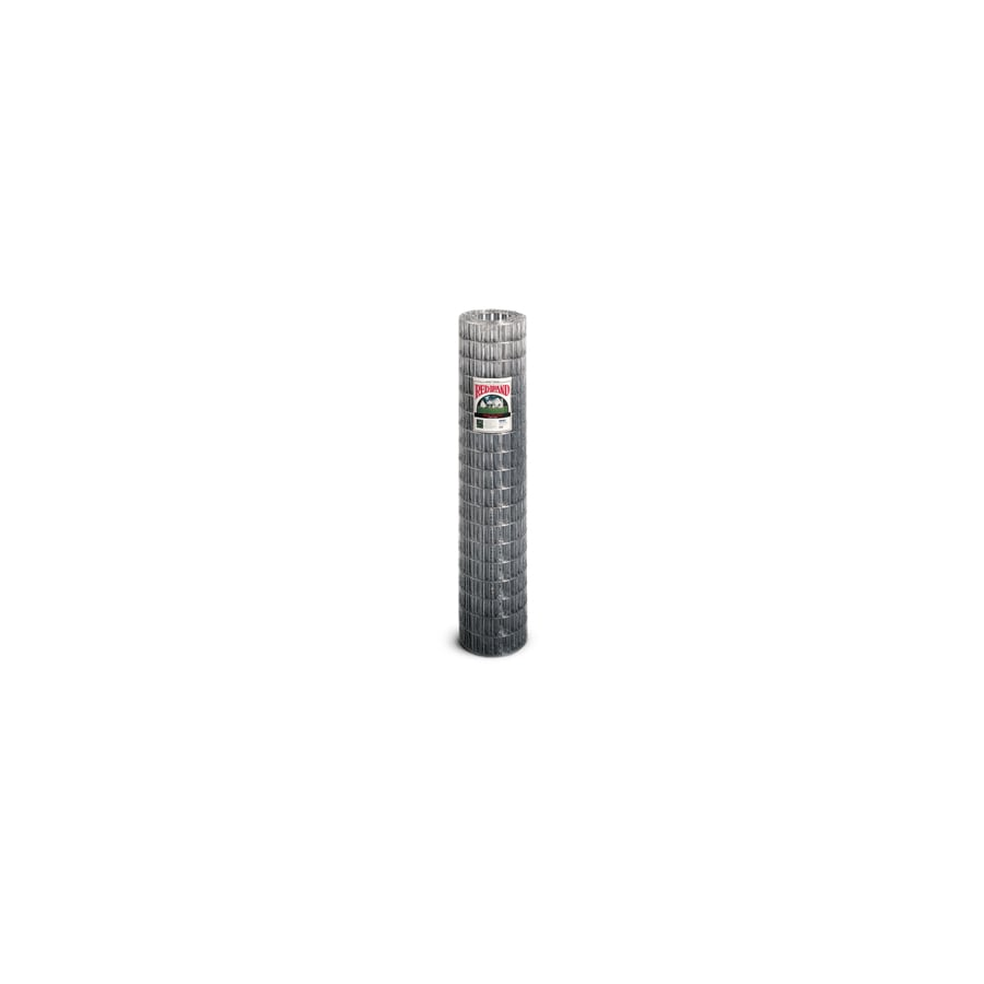 Red Brand Silver Steel Woven Wire (Common: 50-ft x 6-ft; Actual: 50-ft x 6-ft)