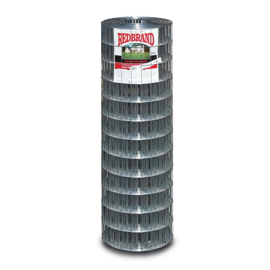 Red Brand Silver Steel Welded Wire (Common: 100-ft x 4-ft; Actual: 100-ft x 4-ft)
