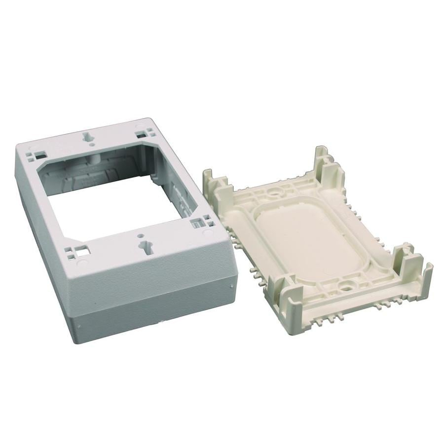 Wiremold 16.1-cu in 1-Gang Plastic Old Work Wall Electrical Box