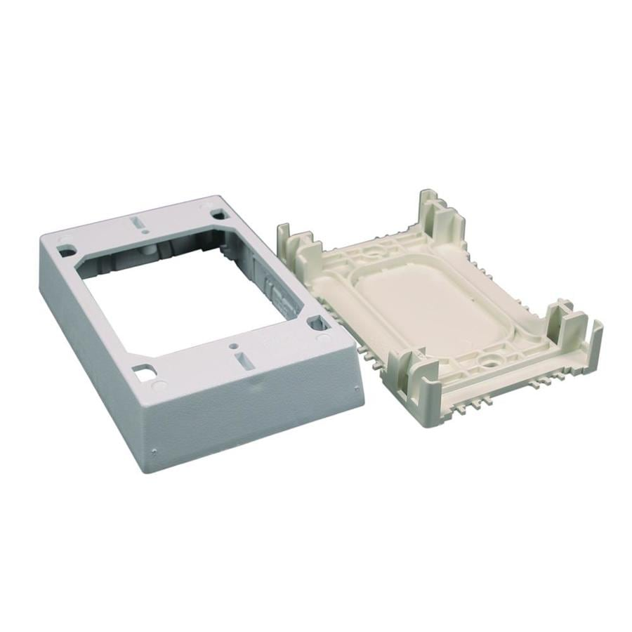 Wiremold 20.2-cu in 1-Gang Plastic Old Work Wall Electrical Box