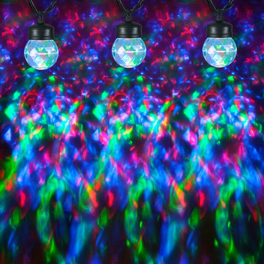 LED LIGHTSHOW SWIRLING GREEN KALEIDOSCOPE PROJECTION SPECIAL OCCATIONS /& HOLIDAY