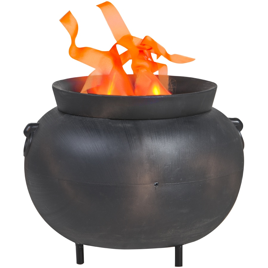 Gemmy 13.7-ft Flaming Cauldron Indoor Halloween Holiday Decoration
