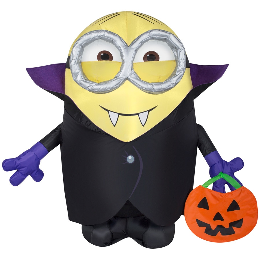 Gemmy 3-ft x 3-ft Lighted Minion Halloween Inflatable