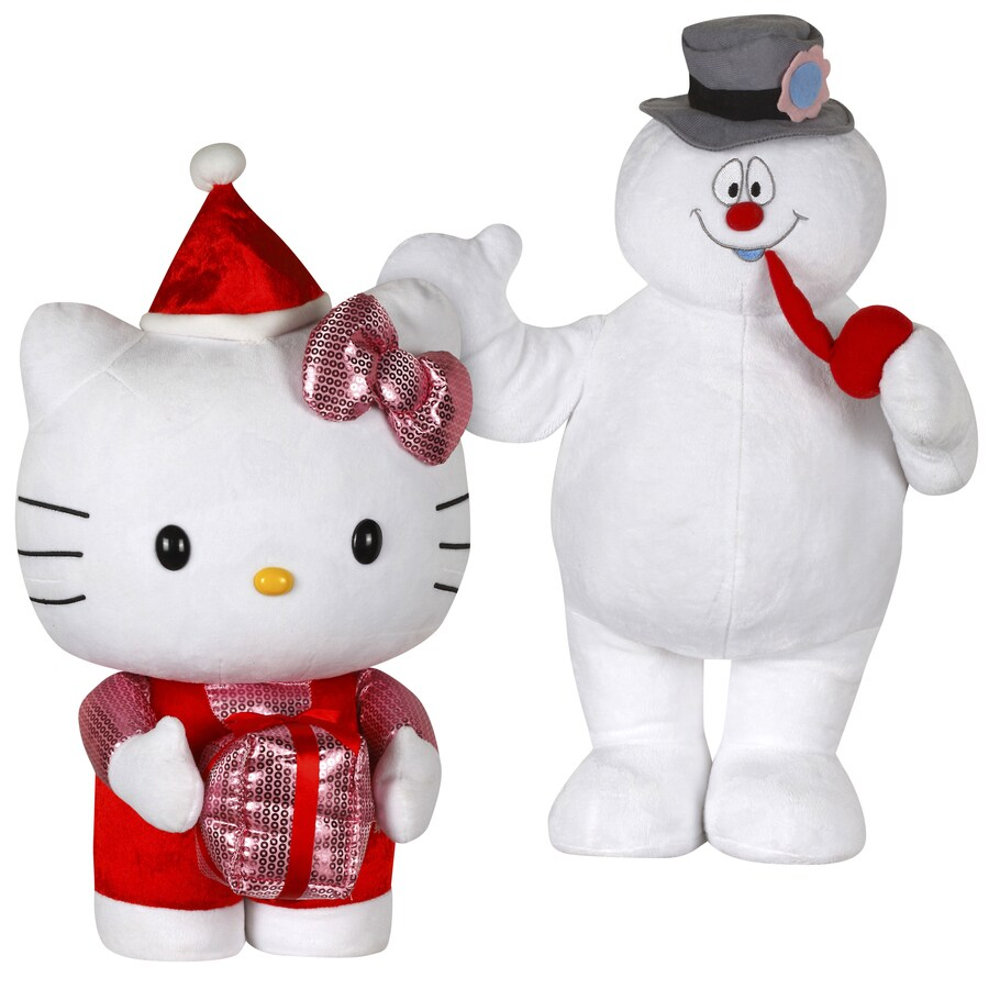 Gemmy Polyester Freestanding Greeter with Lights