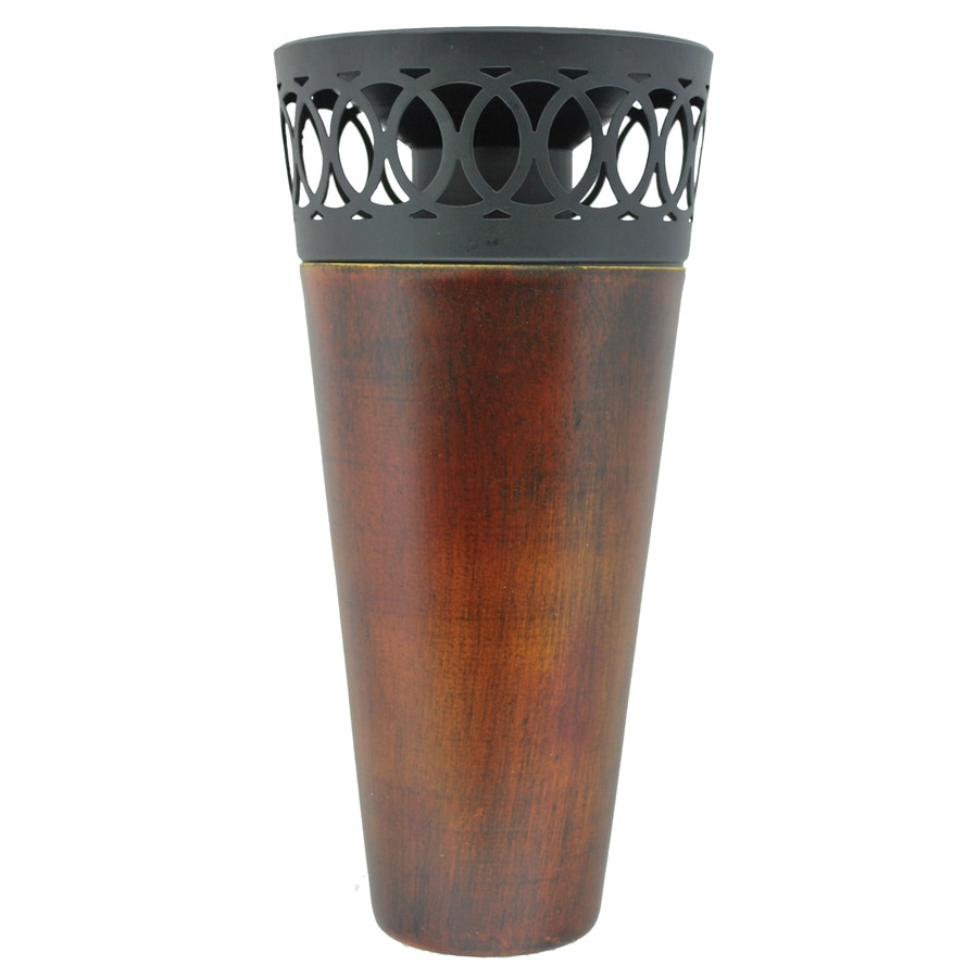 TIKI 71-in Outdoor Metal Deck Citronella Torch