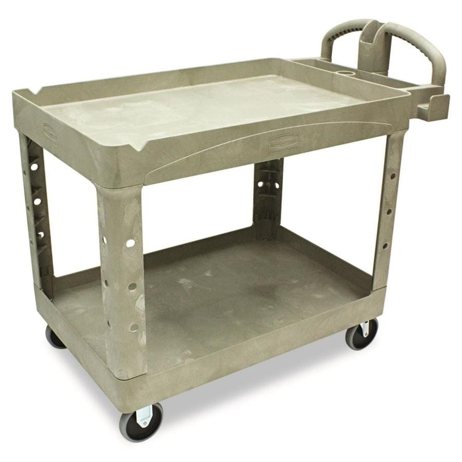 Alera Industrial Kitchen Carts At Lowes Com: Shop Rubbermaid Commercial Products 39-in Utility Cart At