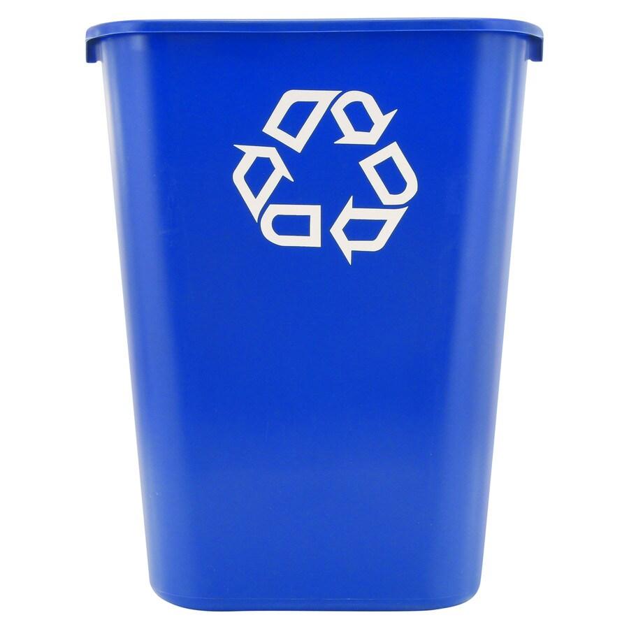 Shop Rubbermaid Commercial Products 10 3 Gallon Blue