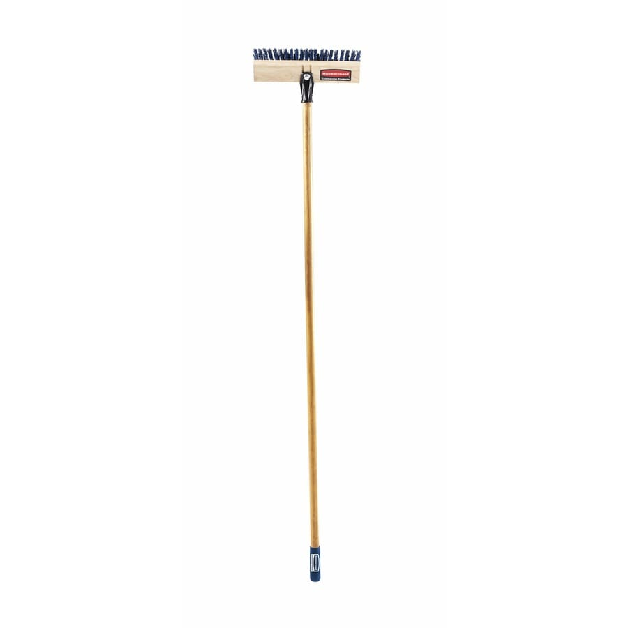 Rubbermaid Commercial Products 12-in Poly Fiber Stiff Deck Brush