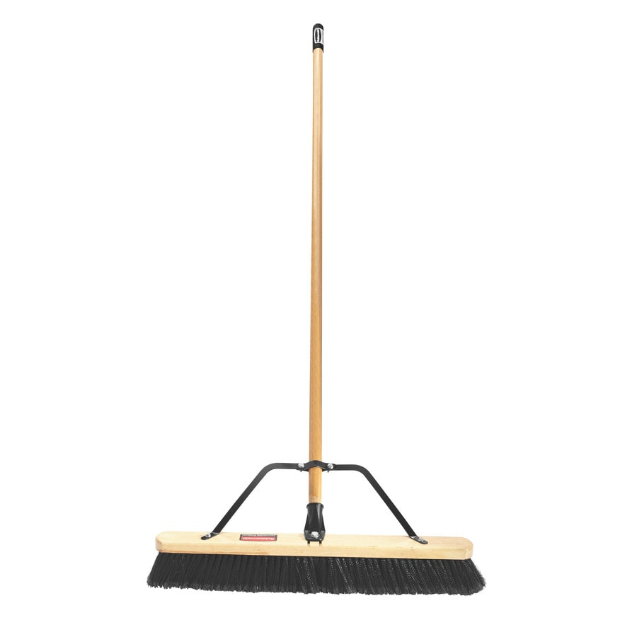 Rubbermaid Commercial Products 24-in Poly Fiber Soft Push Broom