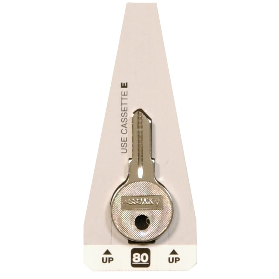 The Hillman Group Brass House/Entry Key Blank