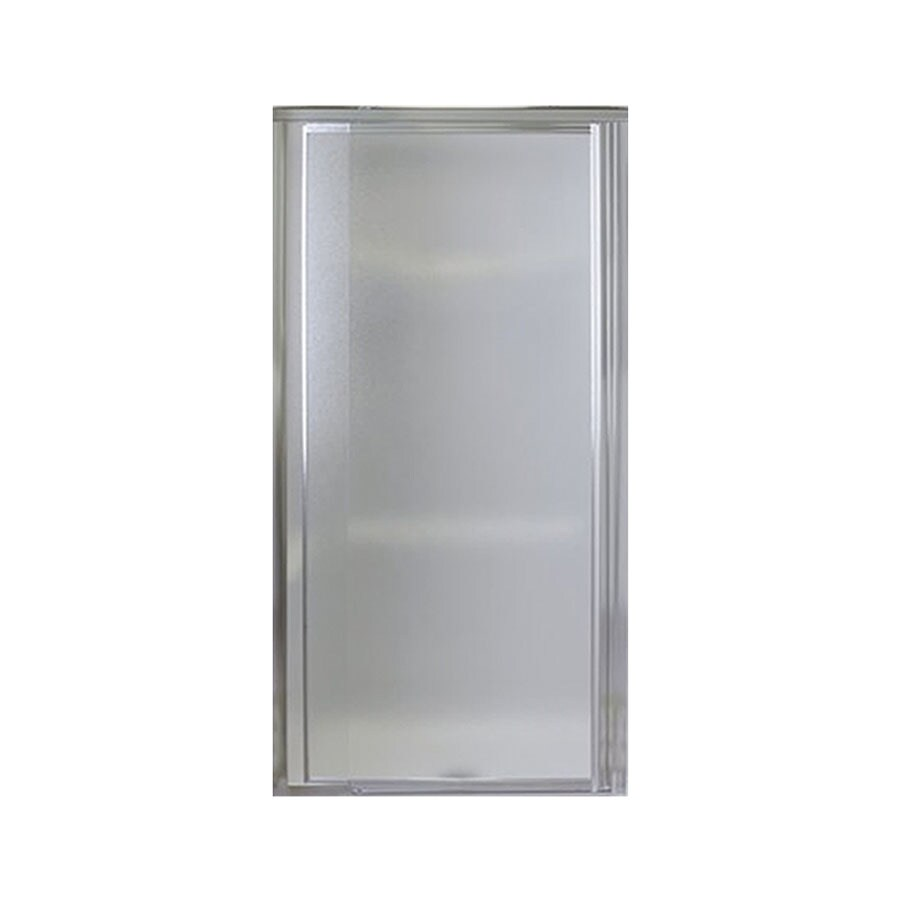 Sterling Vista Pivot 27.5-in to 31.25-in Silver Pivot Shower Door